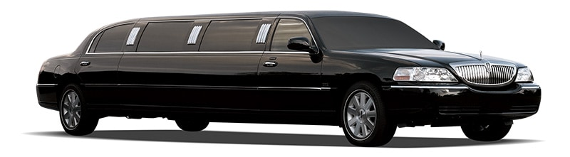Lincoln towncar limo black