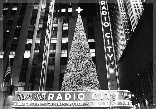 NYC Holiday Lights Radio City