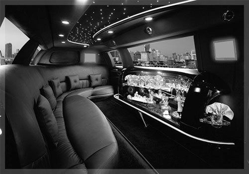 Services Interior Of Limo